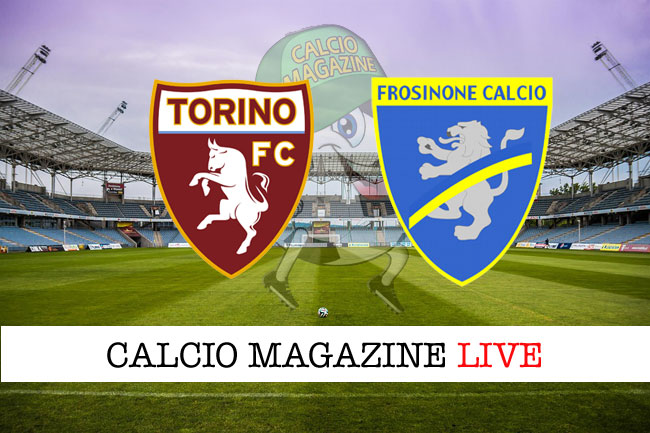 Torino Frosinone cronaca diretta risultato tempo reale