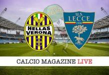 Verona Lecce live cronaca risultato tempo reale