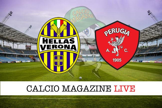 Verona Perugia cronaca diretta risultato in tempo reale