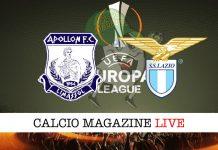 Apollon Lazio cronaca diretta live risultato tempo reale