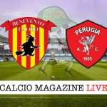 Benevento Perugia cronaca diretta live risultato tempo reale
