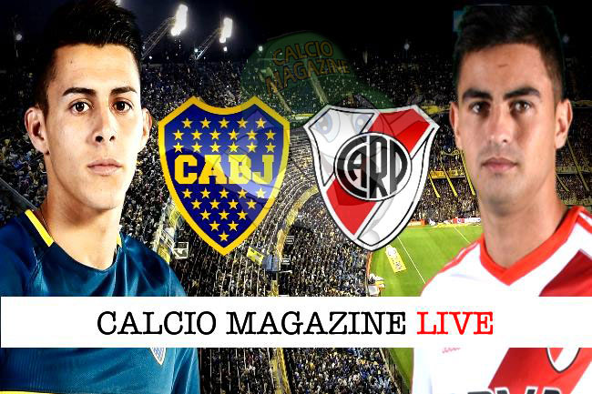 Boca Junior River Plate cronaca diretta live risultato in tempo reale