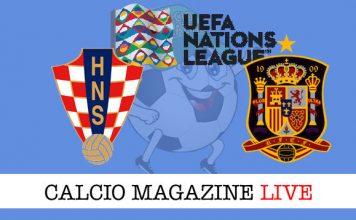 Croazia Spagna cronaca diretta live risultato tempo reale