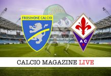 Frosinone Fiorentina cronaca diretta live risultato in tempo reale