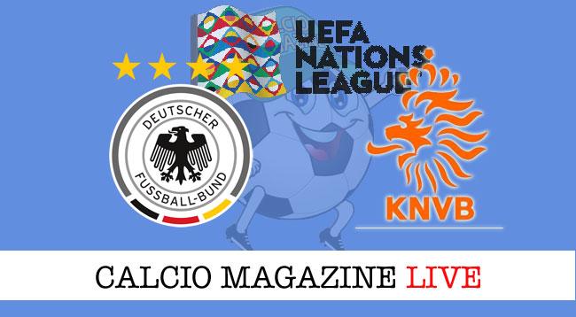 Germania Olanda cronaca diretta live risultato in tempo reale