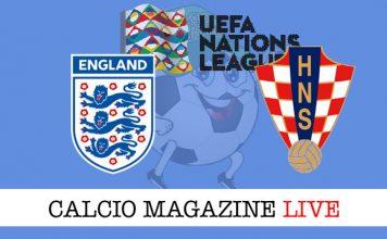 Inghilterra Croazia cronaca diretta live risultato in tempo reale