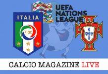 Italia Portogallo cronaca diretta live risultati tempo reale