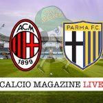Milan Parma cronaca diretta live risultati in tempo reale