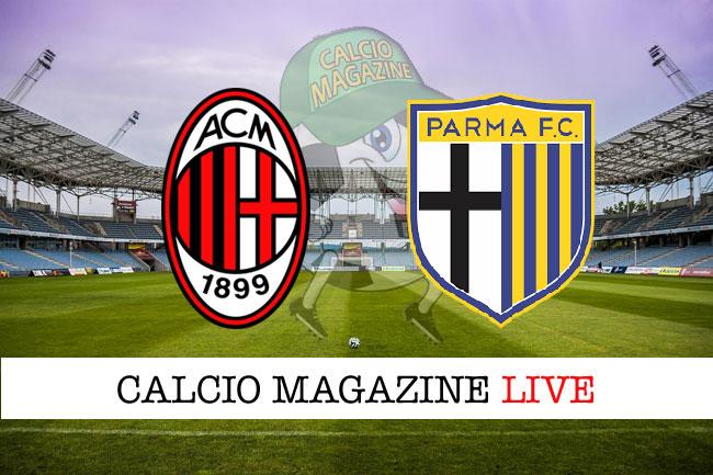 Serie A Il Milan Ribalta Il Parma 2 1 A San Siro
