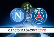 Napoli PSG cronaca diretta live risultato tempo reale