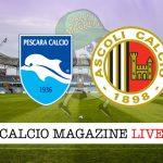 Pescara Ascoli cronaca diretta live risultato in tempo reale