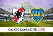 River Plate Boca Juniors cronaca diretta live risultato in tempo reale