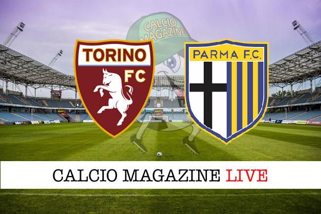 Torino Parma cronaca diretta live risultato in tempo reale
