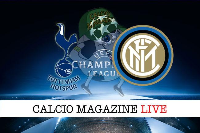 Tottenham Inter cronaca diretta live risultato in tempo reale