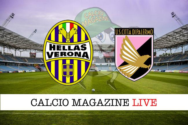 Hellas Verona Palermo cronaca diretta live risultato tempo reale
