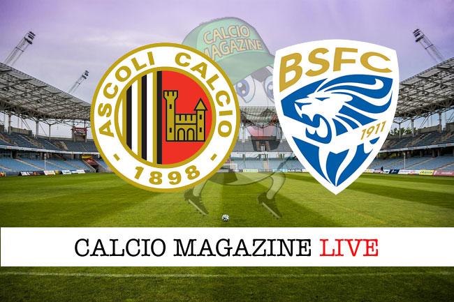 Ascoli Brescia cronaca diretta risultato in tempo reale
