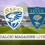 Brescia Lecce cronaca diretta risultato tempo reale