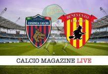 Cosenza Benevento Inter Udinese Torino Juventus cronaca diretta risultato tempo reale