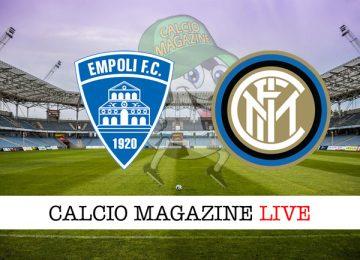 Empoli Inter cronaca diretta risultato in campo reale
