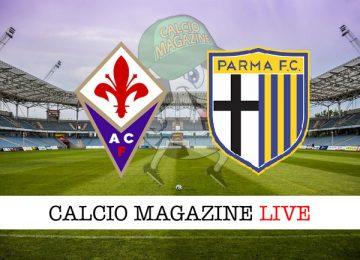 Fiorentina Parma cronaca diretta risultato in tempo reale