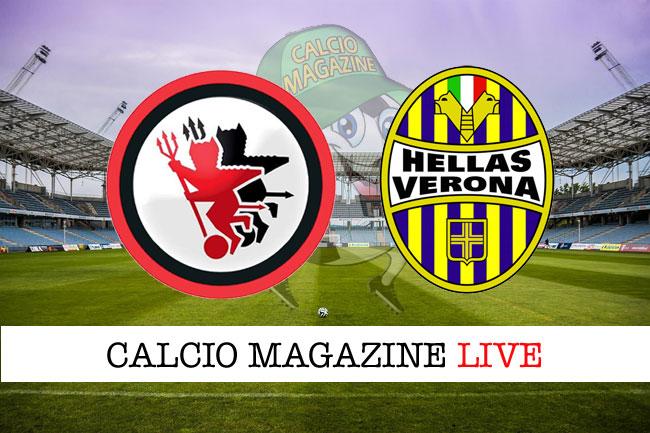 Foggia Hellas Verona cronaca diretta risultato in campo reale