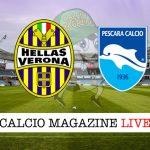 Hellas Verona Pescara cronaca diretta risultato tempo reale