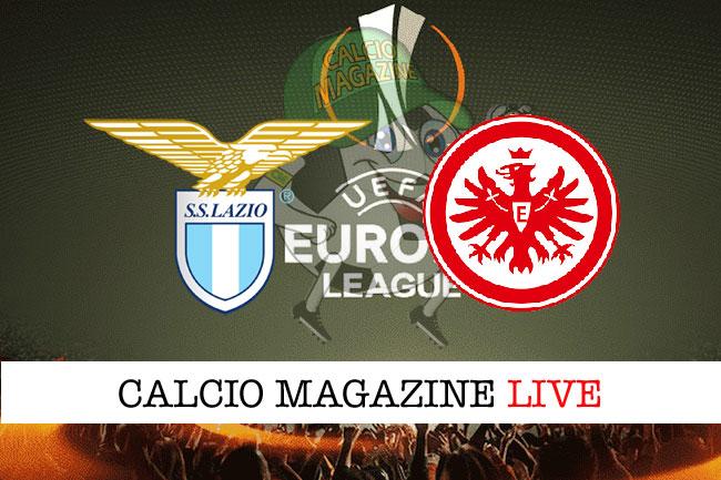 Lazio Eintracht Francoforte cronaca diretta live risultato tempo reale