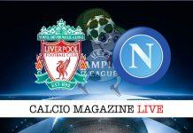 Liverpool Napoli cronaca diretta live risultato tempo reale