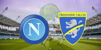 Napoli Frosinone cronaca diretta live risultato in tempo reale
