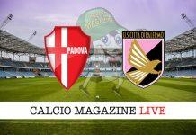 Padova Palermo cronaca diretta live risultato in tempo reale