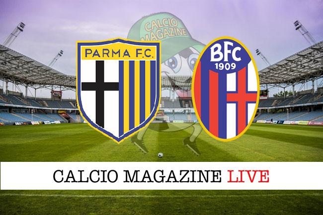 Parma Bologna cronaca diretta risultato in tempo reale