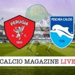 Perugia Pescara cronaca diretta live risultato in tempo reale