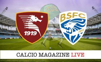Salernitana Brescia cronaca diretta live risultato in tempo reale