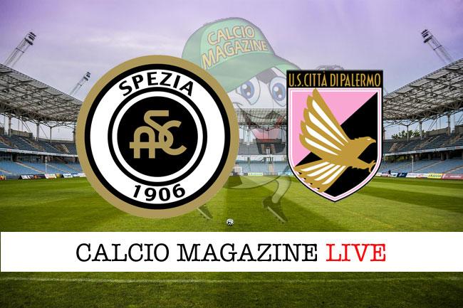 Spezia - Palermo, il tabellino