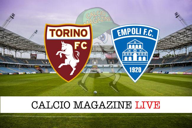 Torino Empoli cronaca diretta risultati in tempo reale
