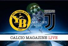 Young boys Juventus cronaca diretta live risultato tempo reale