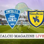 Empoli ChievoVerona cronaca diretta live risultato in campo reale