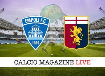 Empoli Genoa cronaca diretta live risultato in campo reale
