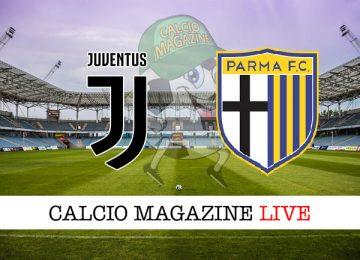 Juventus Parma cronaca diretta live risultato in campo reale