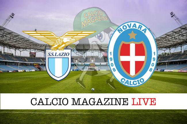 Lazio Novara cronaca diretta risultato in campo reale
