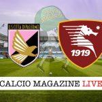 Palermo Salernitana cronaca diretta risultato in campo reale