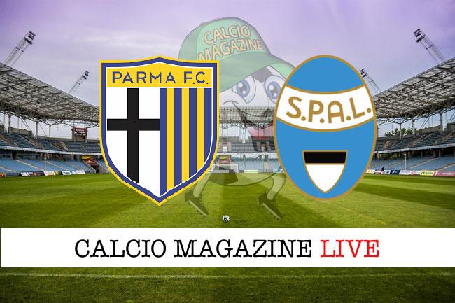 Parma Spal cronaca diretta live risultato in campo reale