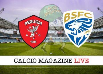 Perugia Brescia cronaca diretta risultato in campo reale