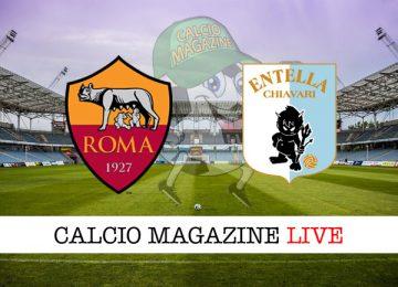Roma Virtus Entella cronaca diretta risultato in campo reale