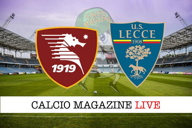 Serie B Colpo Esterno Del Lecce Battuta La Salernitana 1 2
