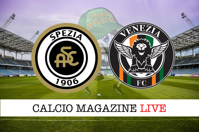 Spezia - Venezia 1-1, il tabellino