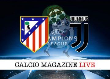 Atletico Madrid Juventus cronaca diretta live risultato in tempo reale
