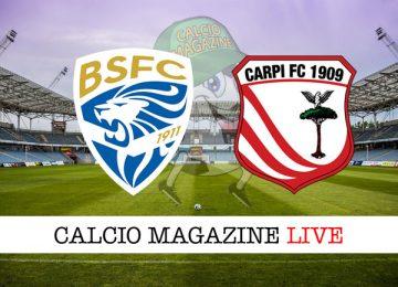 Brescia Carpi cronaca diretta live risultato in tempo reale