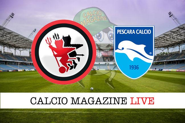 Foggia Pescara cronaca diretta live risultato in tempo reale