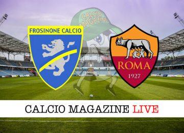 Frosinone Roma cronaca diretta live risultato in tempo reale